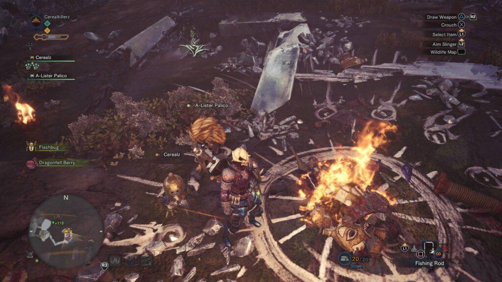 Souls Monster Hunter World Totenkopf Screenshot
