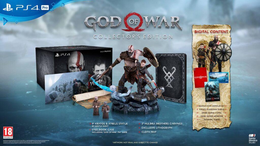 Packshot Collector's Edition God of War Cerealkillerz