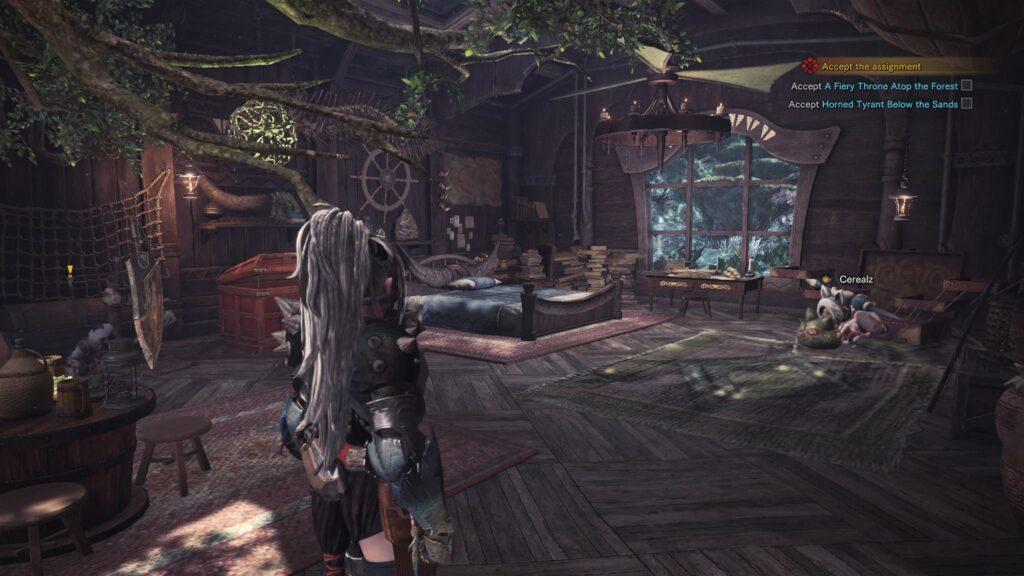 Haus Monster Hunter Screenshot PS4 Pro
