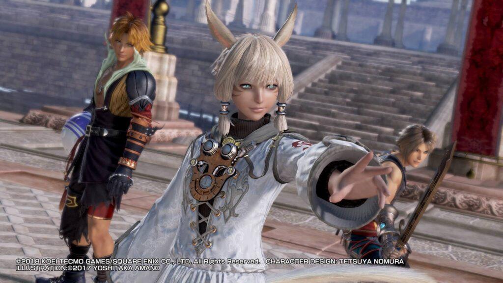 Screenshot PS4 Pro Dissidia NT