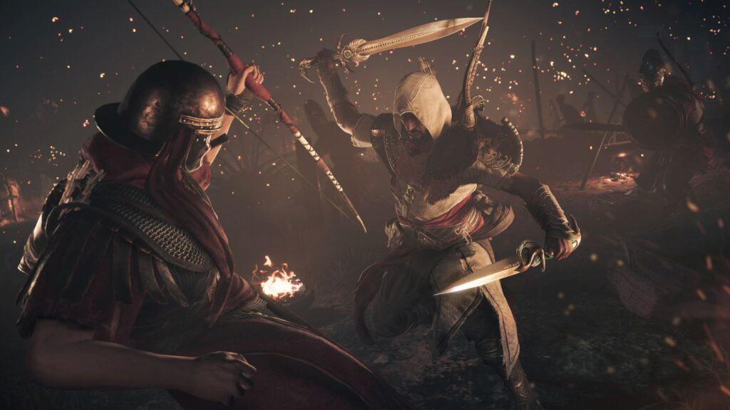 Schwertkampf Assassin's Creed Origins Cerealkillerz
