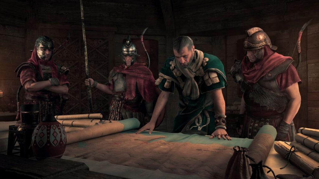 Screenshot Rufio Assassin's Creed Origins Ubisoft