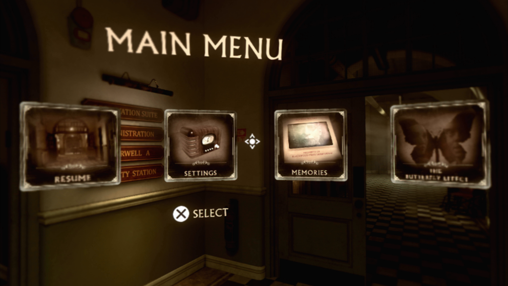 The Inpatient PS VR Screen