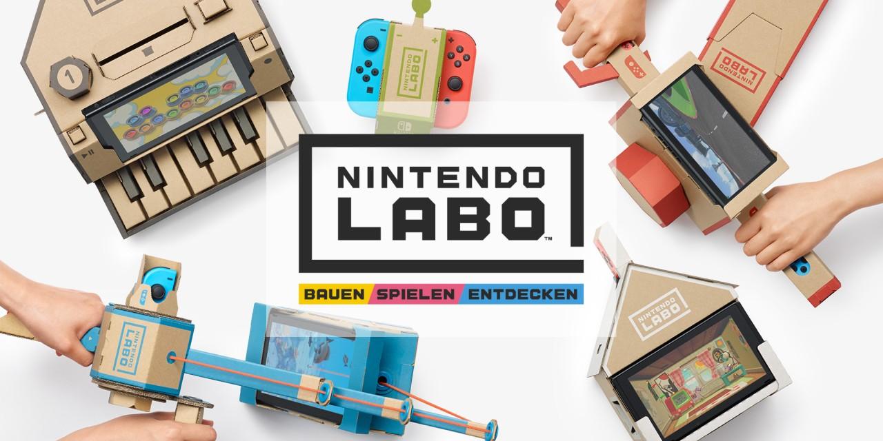 Nintendo Labo vorgestellt: Nintendo bringt Baukästen für die Switch