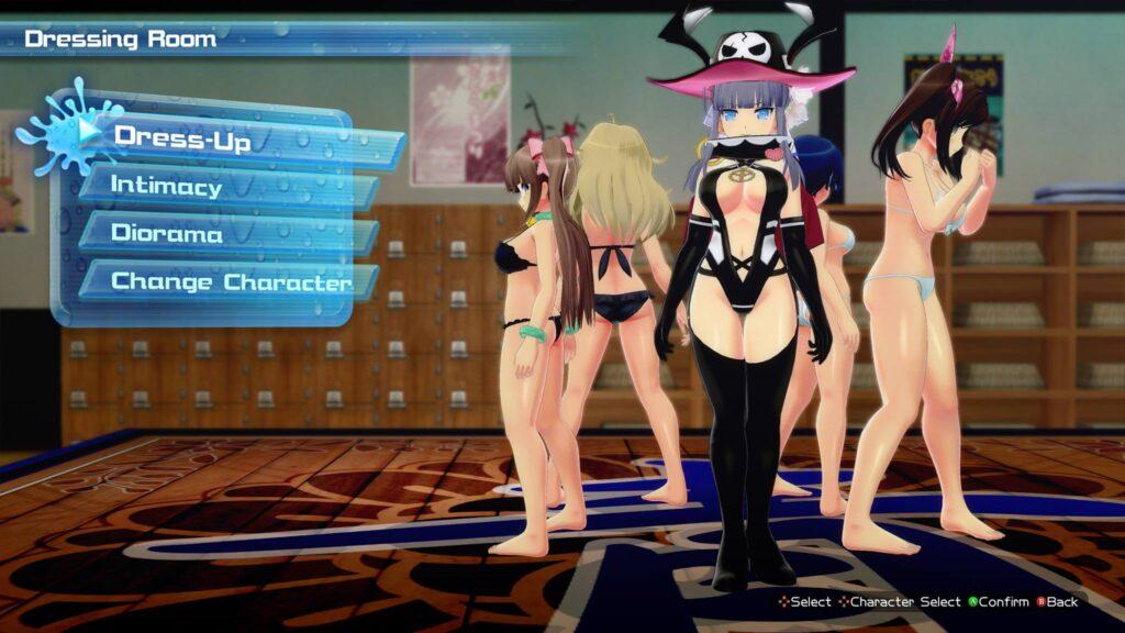 Senra Beach Splash Charakter Editor