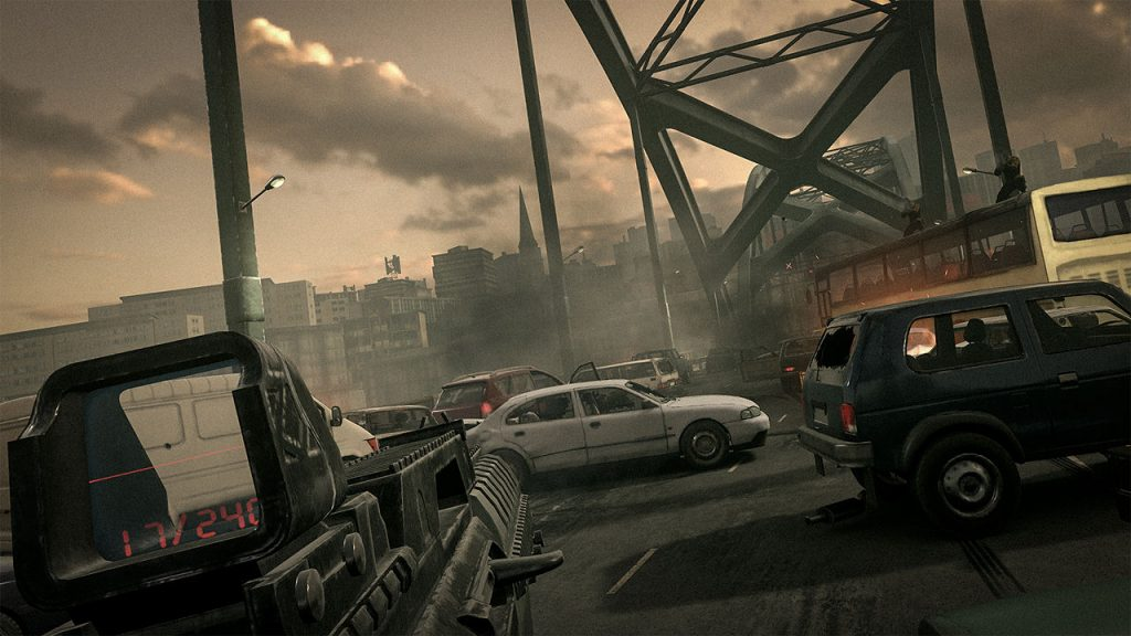 Screenshot Bravo Team PS VR