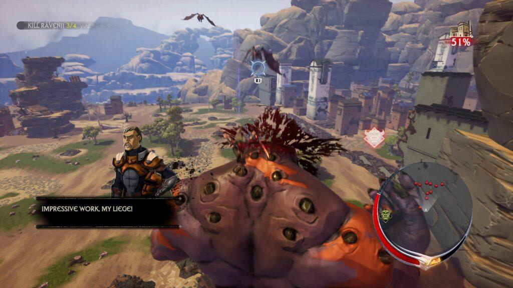 PS4 Pro Ravenii Extinction Screenshot