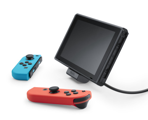 Nintendo Switch: Nintendo kündigt verstellbare Ladestation an