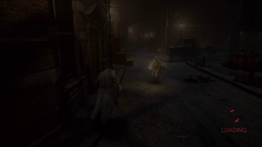 Vampyr Ladescreen PS4 Pro