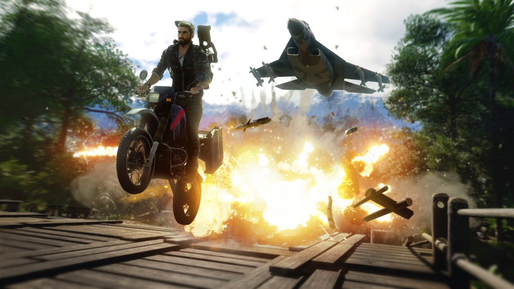 Just Cause 4 E3 2018 Screen Explosion