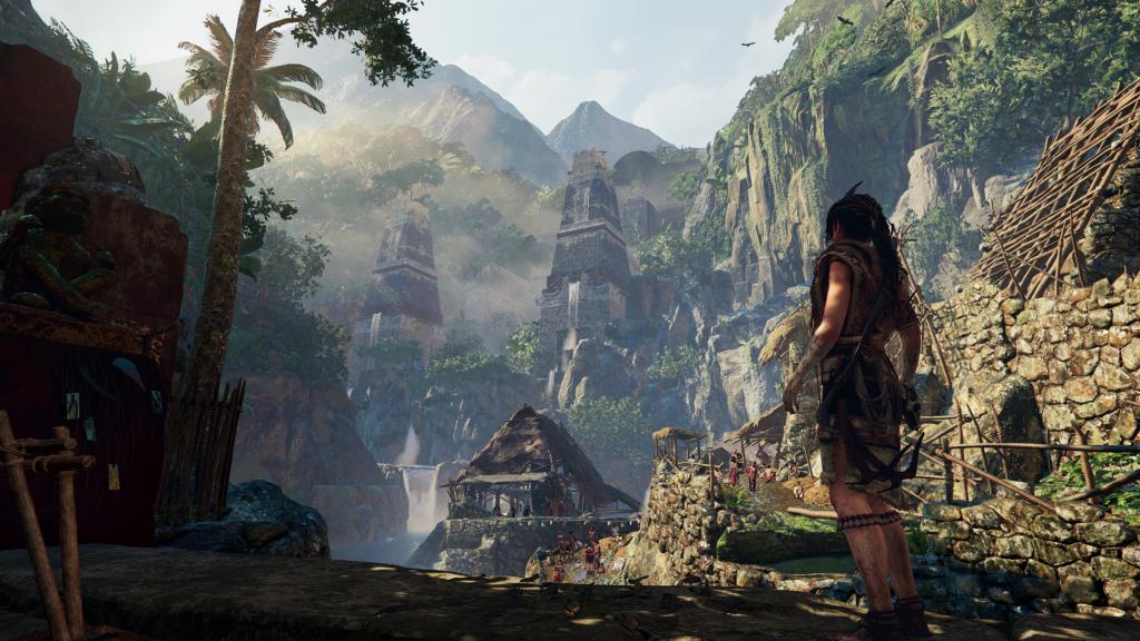 Screenshot Social Hub Shadow of the Tomb Raider