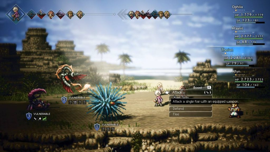 Nintendo Switch Capture Octopath Traveller