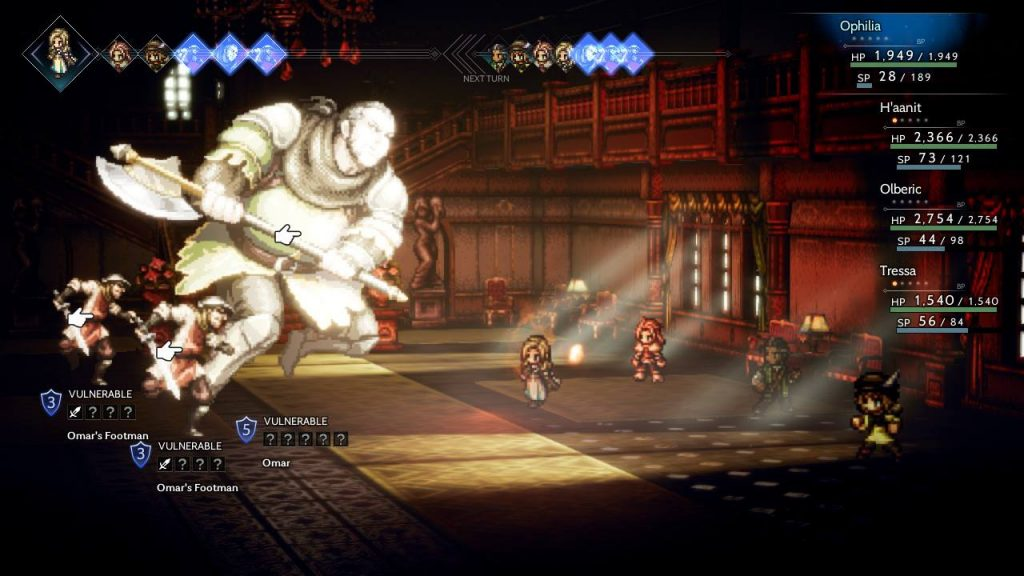 Omar Boss Octopath Traveler Nintendo Switch