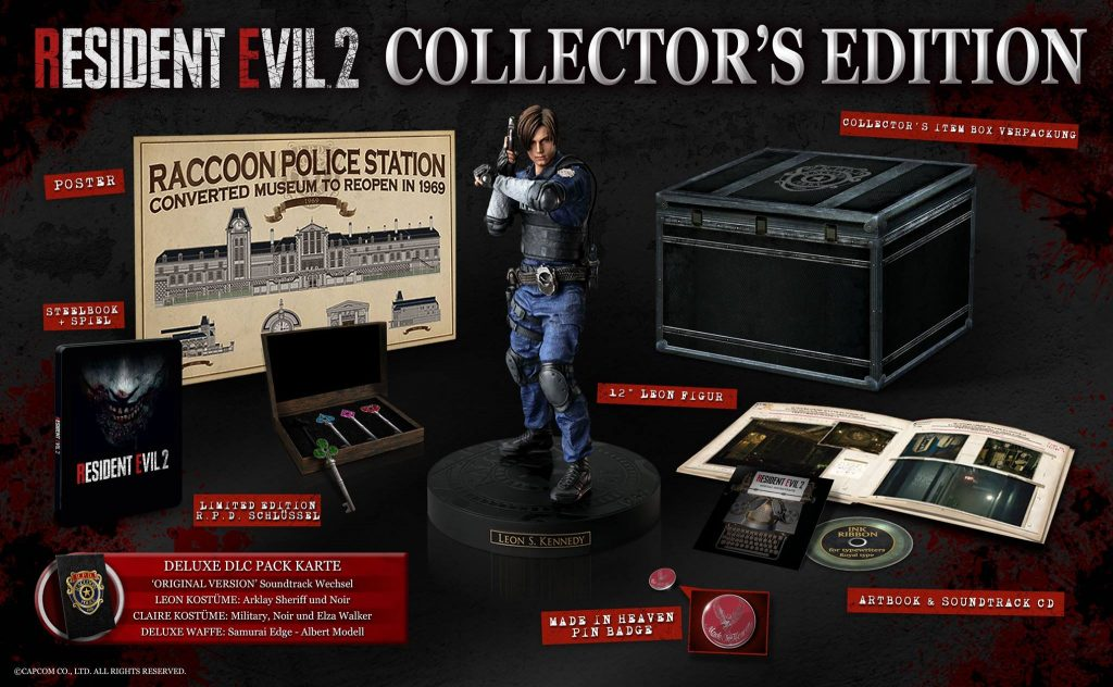 Europa Collectors Edition Resident Evil 2