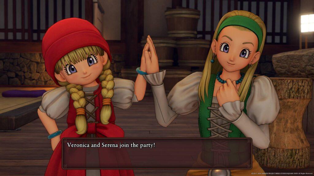 Schwestern Dragon Quest 11