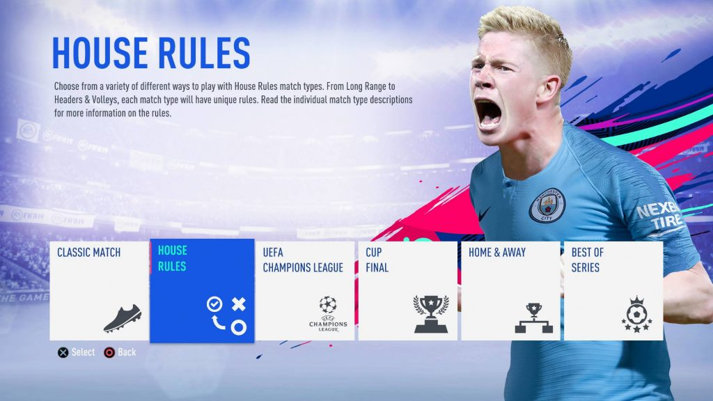FIFA 19 Battle Royale Modus Screenshot