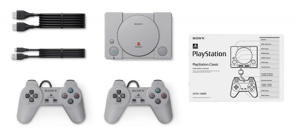 PS Mini PlayStation Classic Konsole