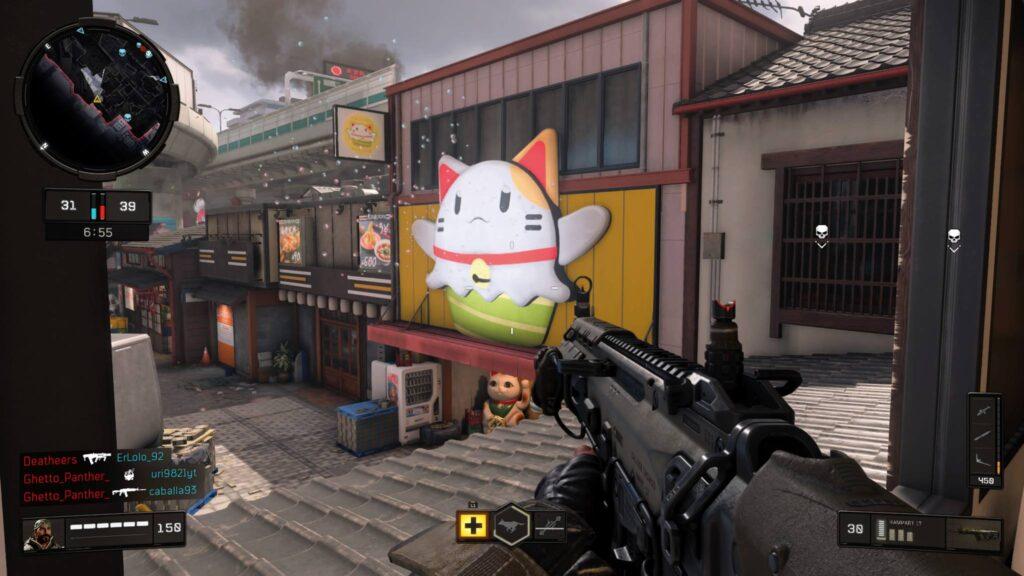 Screenshot Black Ops 4 PS4 Pro Edition Katze