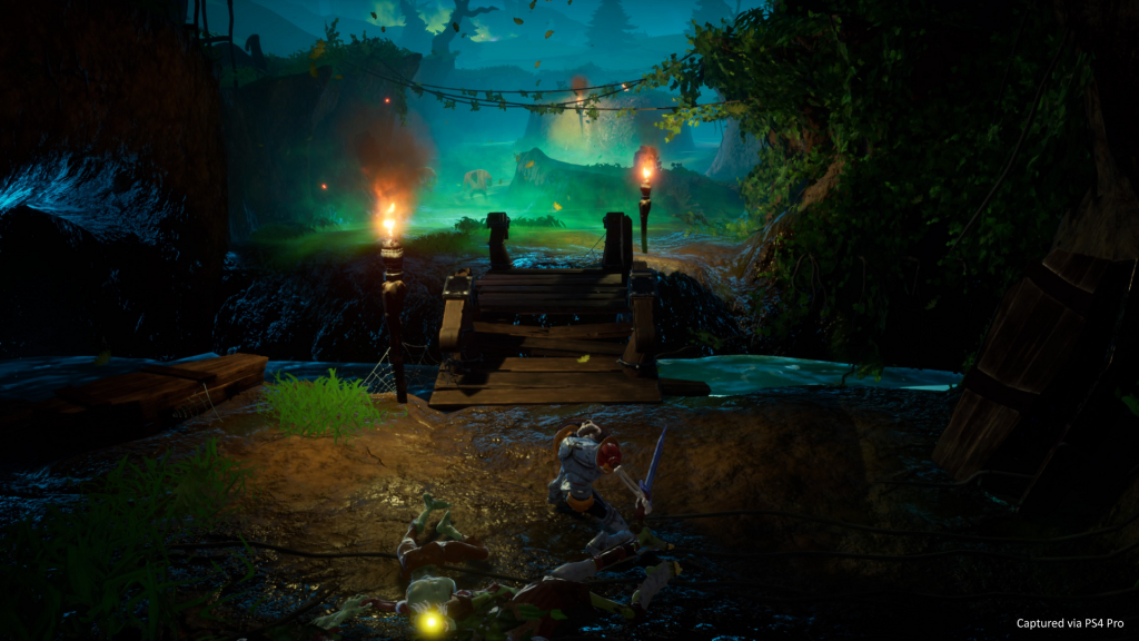 MediEvil PS4 Friedhof Screenshot Remaster