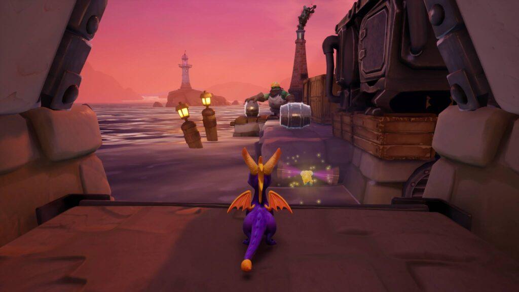 Gameplay Spyro Trilogie Screenshot Review