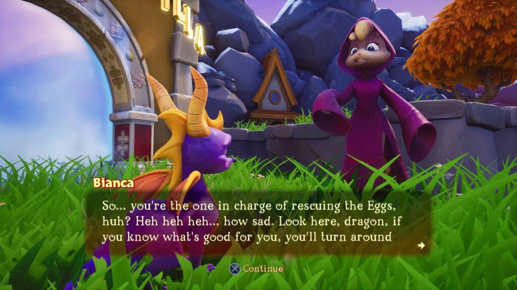 PS4 Pro Spyro Remake Trilogy Screenshot