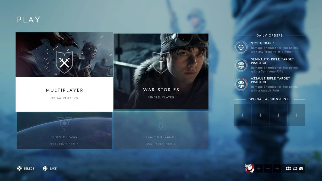 Singleplayer Battlefield V Review