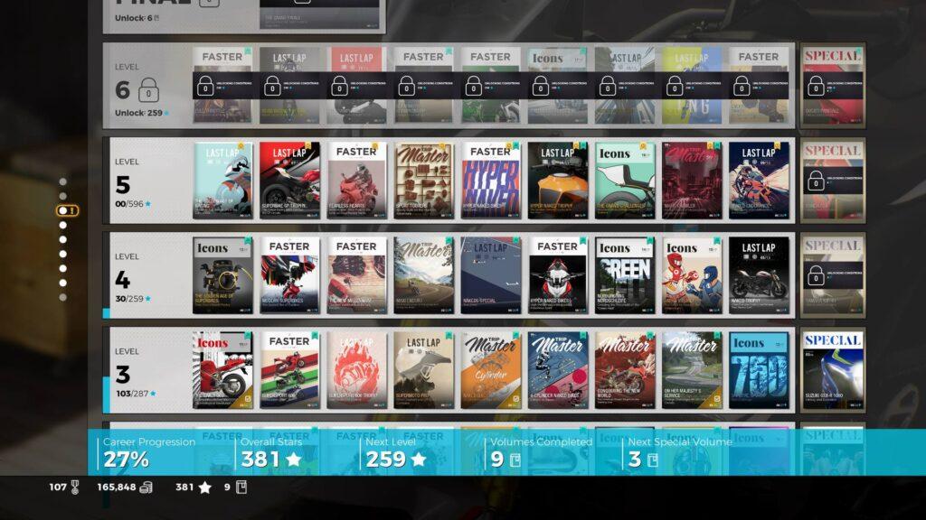 Karriere Screenshot RIDE 3 Xbox One X