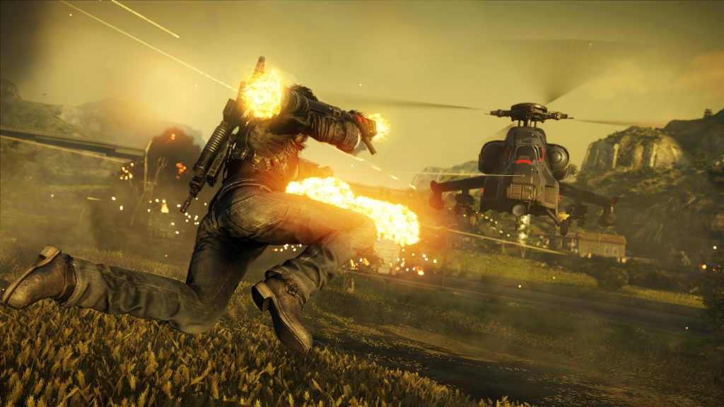 Just Cause 4 Grappling Hook Screenshot