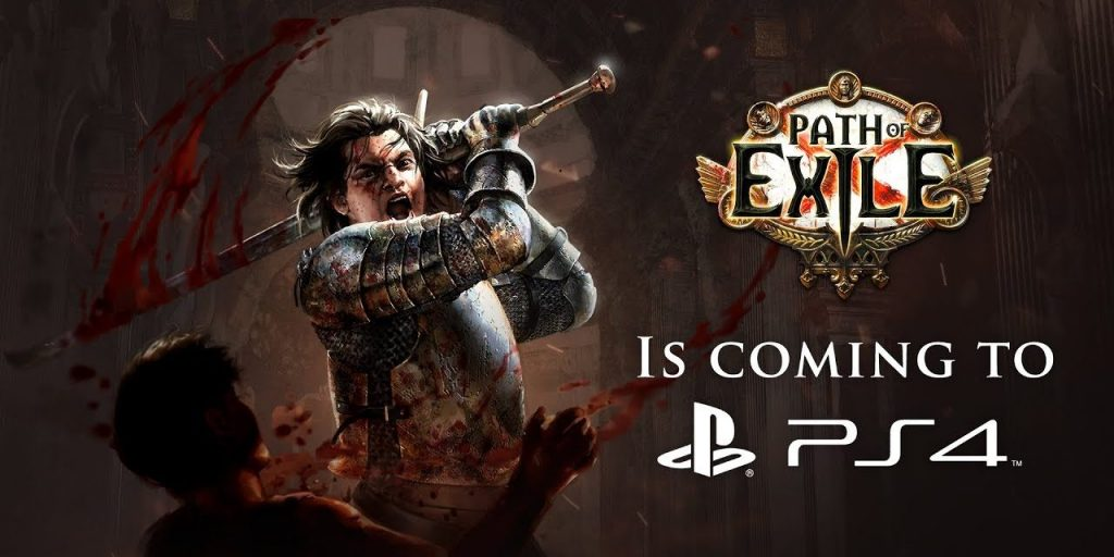 PS4 Path of Exile Cover Art