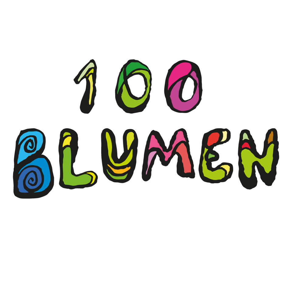 100 Blumen Bier Logo Wallpaper