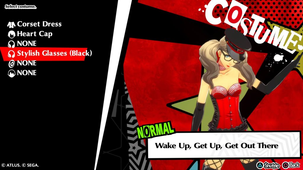 Persona 5 Tanzspiel Screenshot