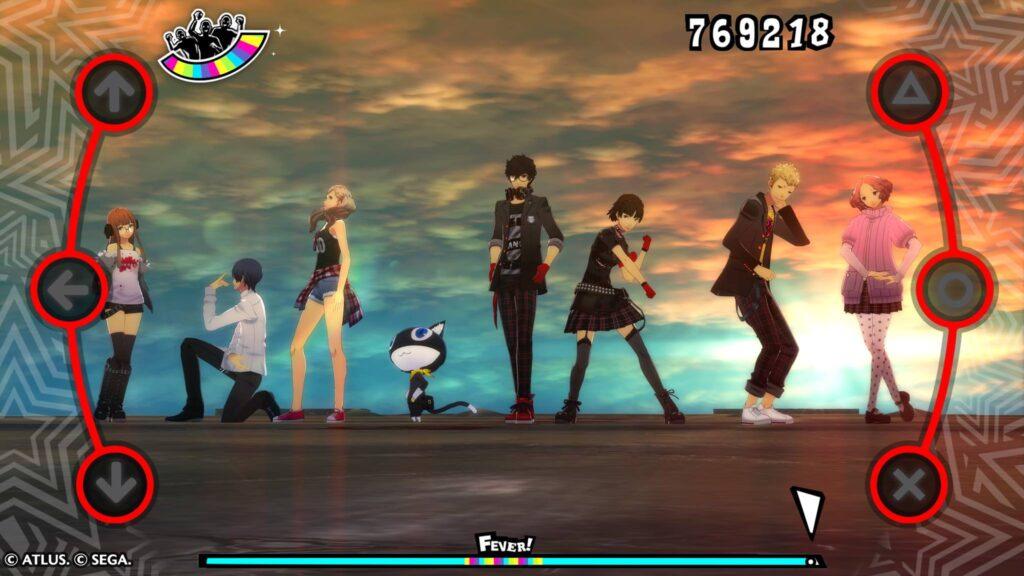 Ende Persona 5 Tanzspiel