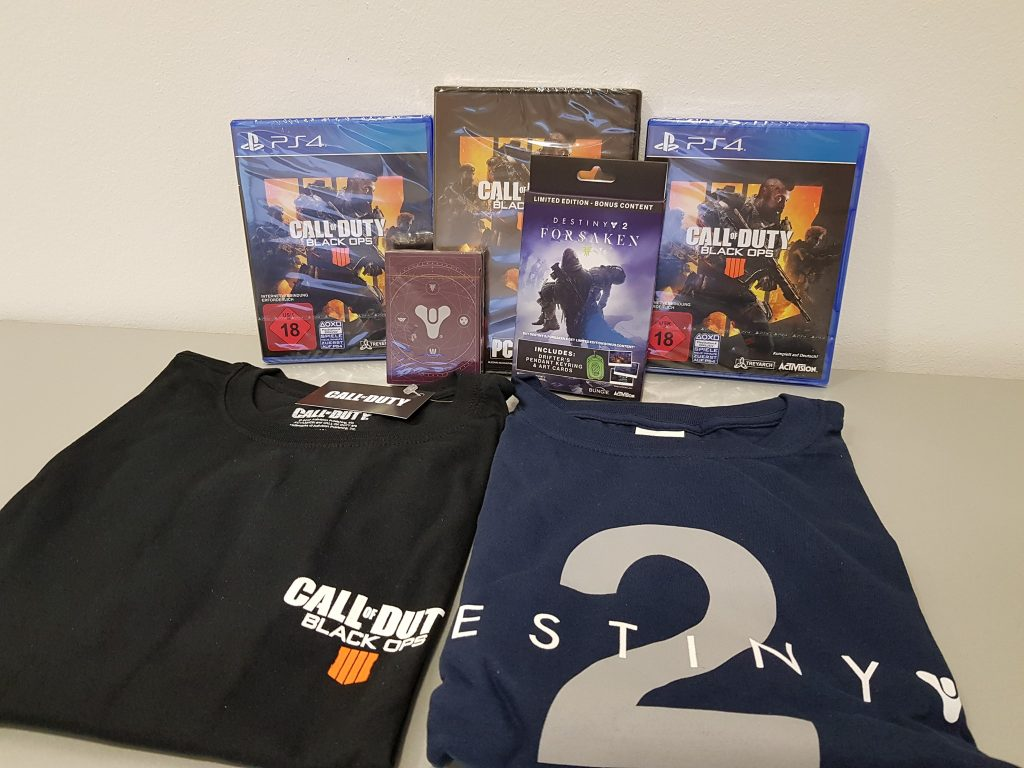 Call of Duty Black Ops 4 Gewinnspiel