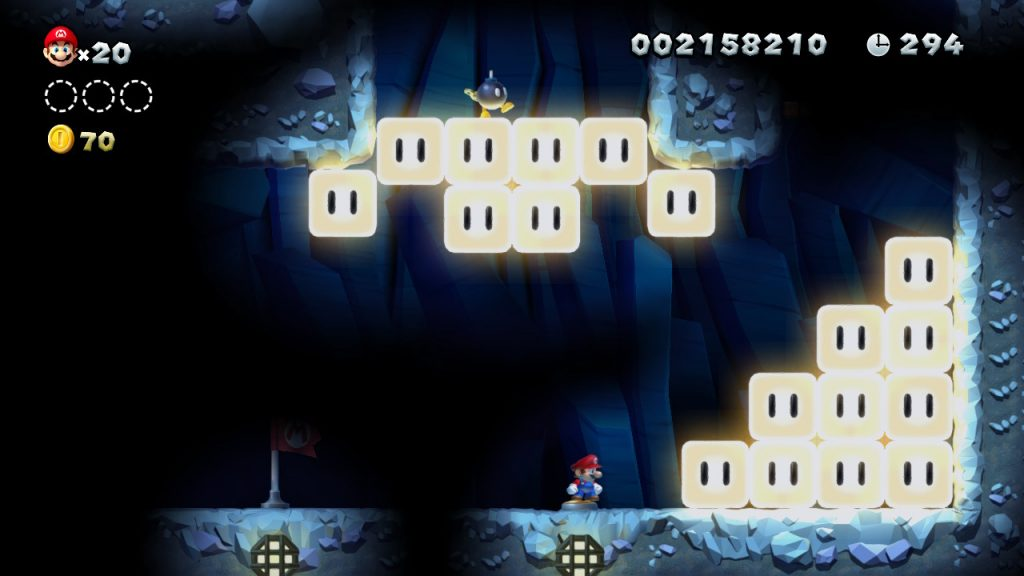 Dunkel Level New Super Mario Bros. U Deluxe