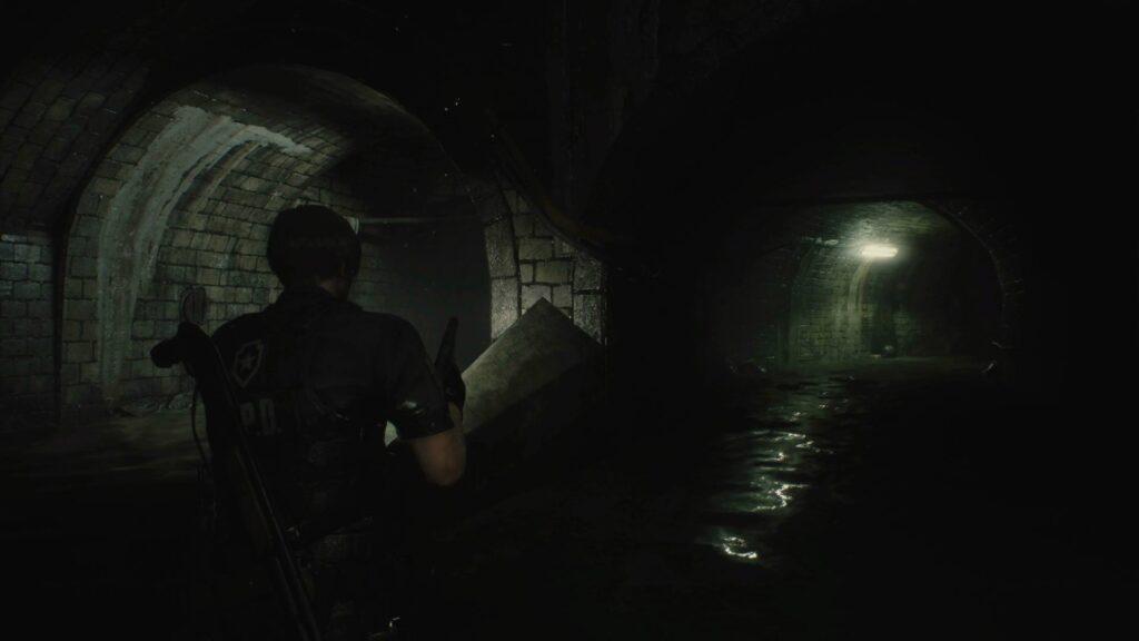 Resident Evil 2 Kanalisation