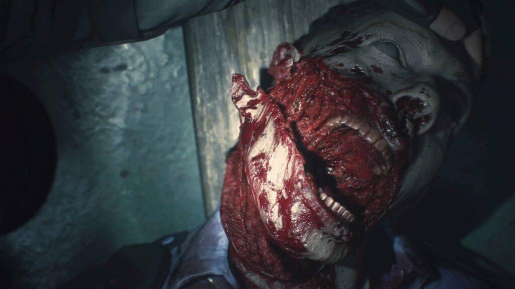 Resident Evil 2 Gore