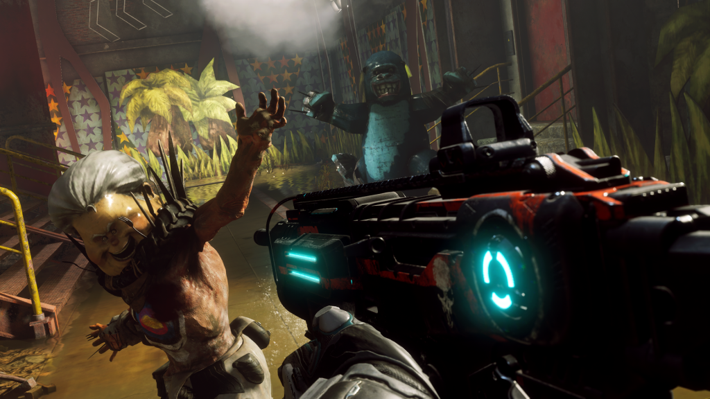 Mutant Bash Rage 2 Screenshot