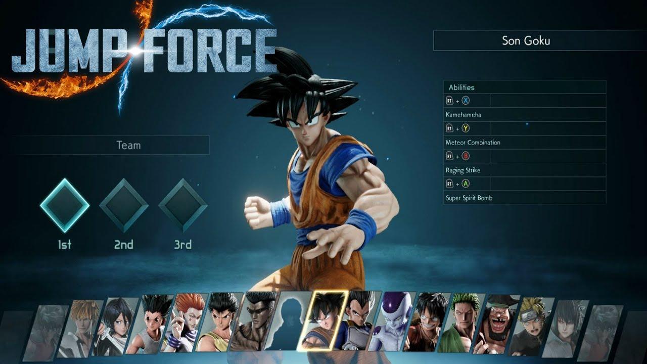 jump force beta ps4