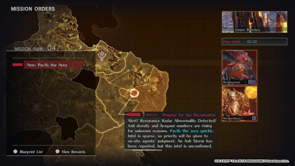 God Eater 3 Endgame Screenshot Bosses