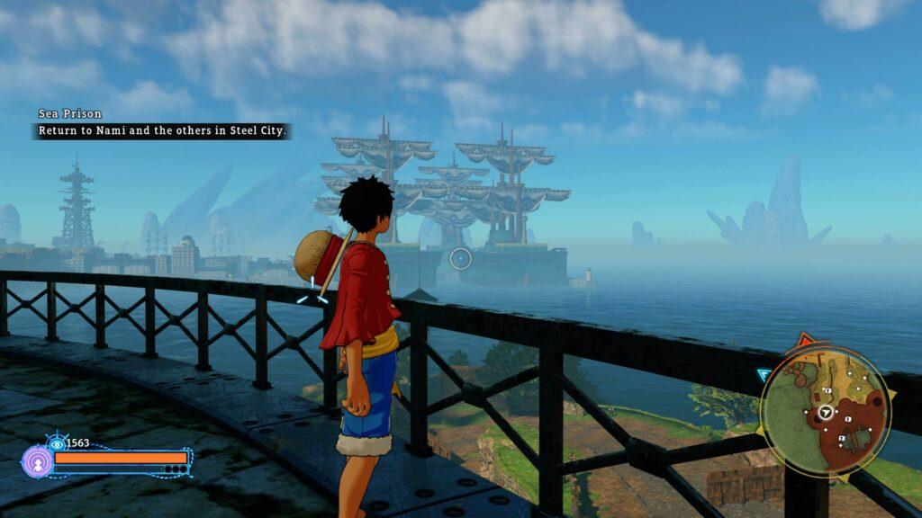 One Piece Steel City Screenshot Ruffy.