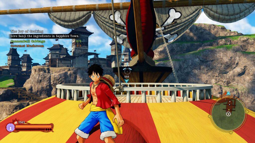 One Piece World Seeker Thousand Sunny Screenshot