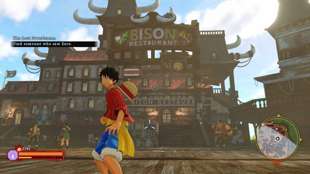 One Piece World Seeker Preview Screenshot