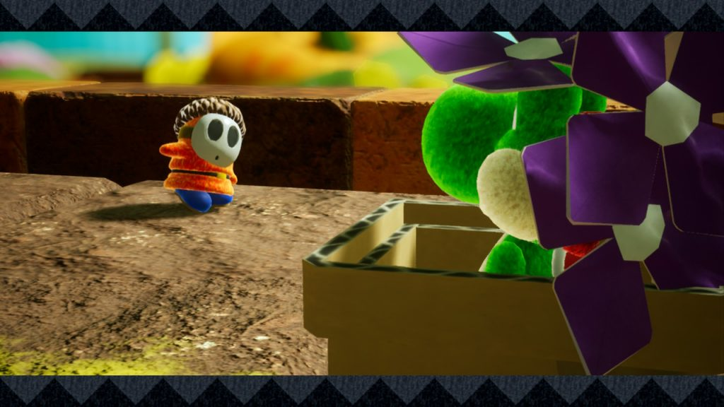 Shy Guy Yoshis Crafted World
