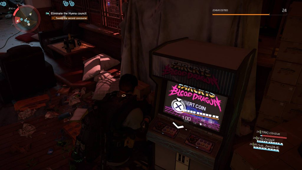 The Division 2 Blood Dragon Easter Egg