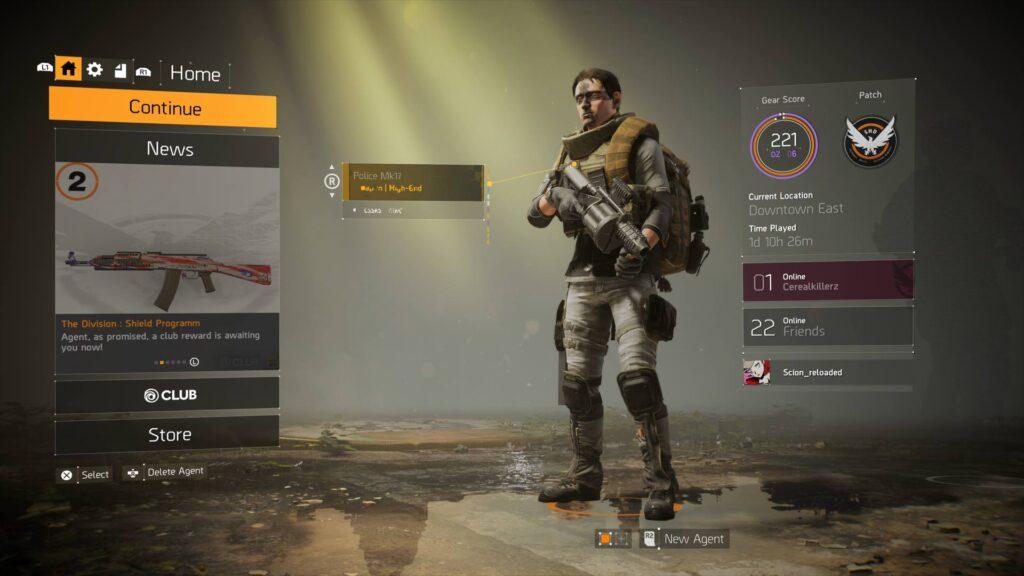 The Division 2 Endgame Charakter Screenshot
