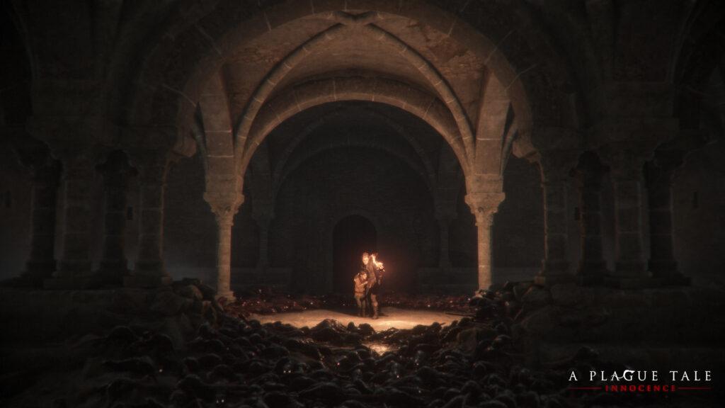 A Plague Tale Amicia und Hugo Screenshot PC Ratten.