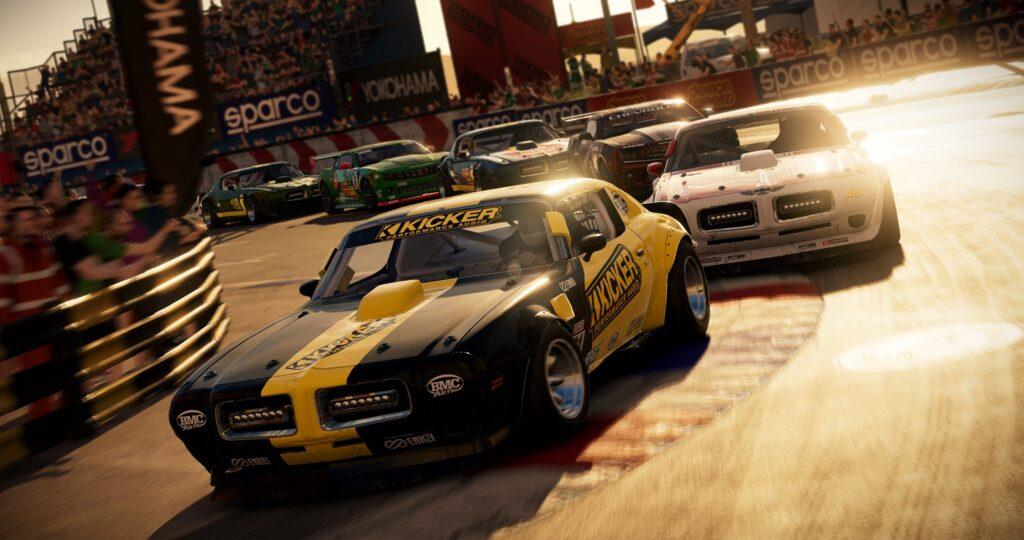 Grid Muscle Screenshot Racing