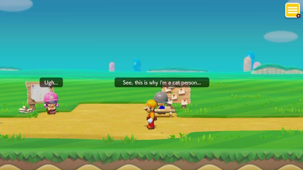 Super Mario Maker 2 Cat Content Nintendo Switch