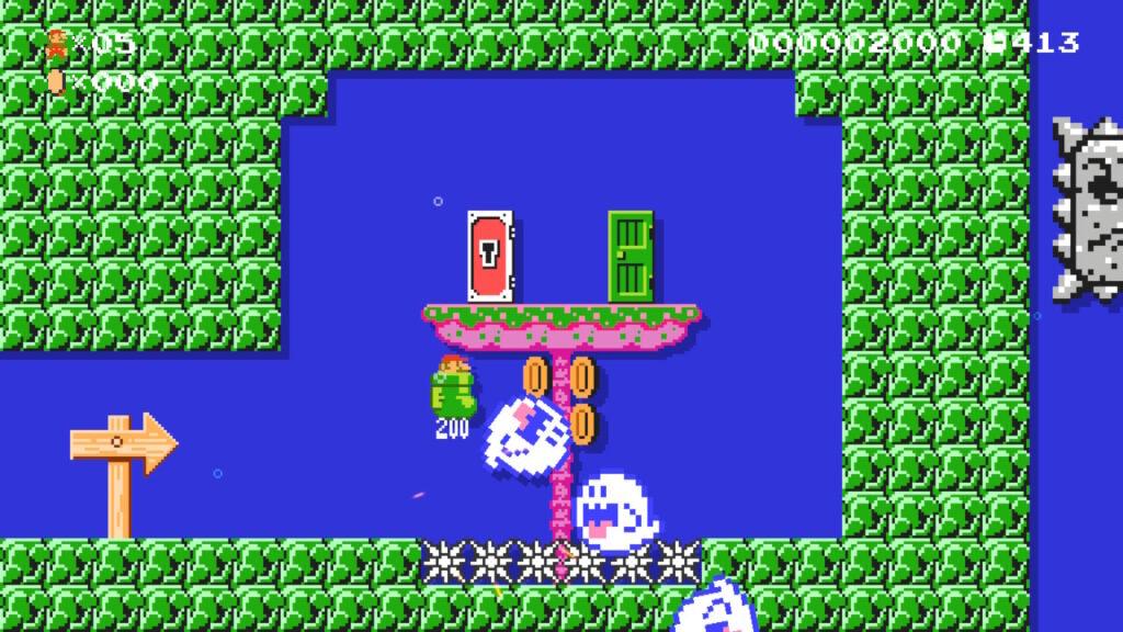 Super Mario Maker 2 Nintendo Switch Screenshot Geister