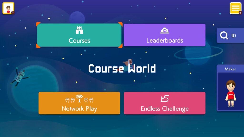 Super Mario Maker 2 Maker Endless Play Screenshot